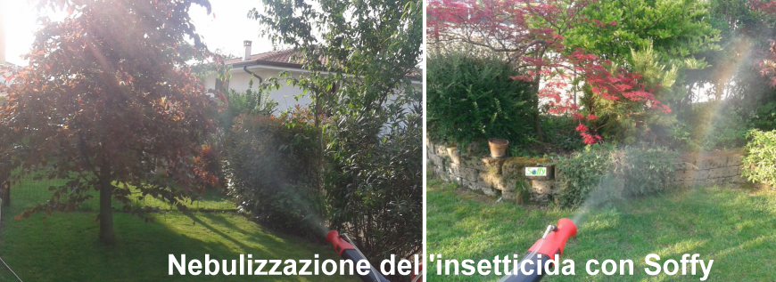 Soluzione per eliminare le zanzare
